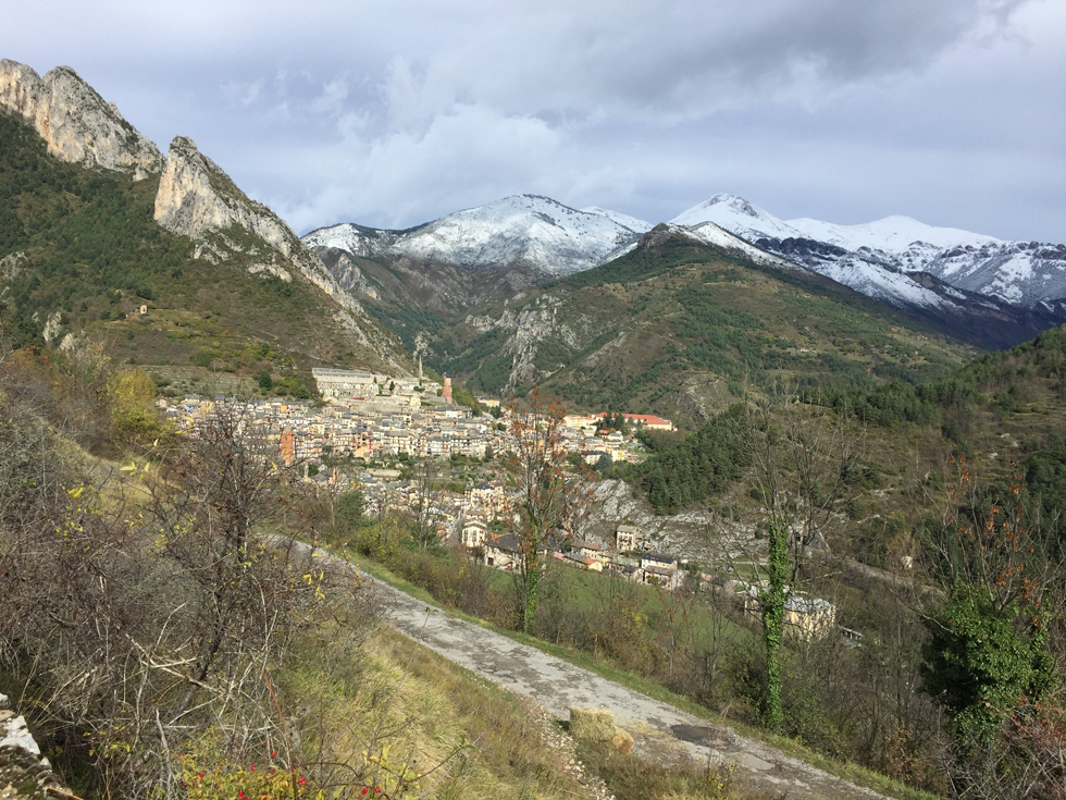 Village de Tende - 30 octobre 2018 !!